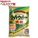 固まる木製猫砂 スーパーウッディー 大粒(6L)【常陸化工】 その1