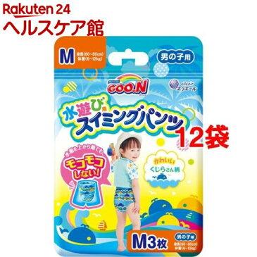 グーン(GOO.N) スイミングパンツ Mサイズ 男の子用(3枚入*12コセット)【mam_p5】【グーン(GOO.N)】