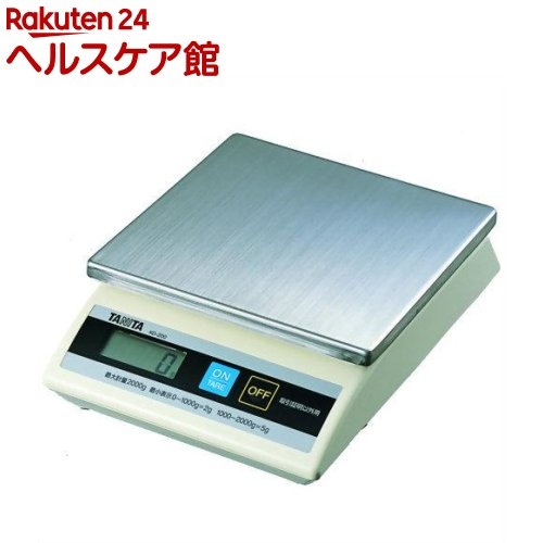 タニタ 卓上スケール 5000g KD-200(取引証明以外用)(1コ入)【タニタ(TANITA)】