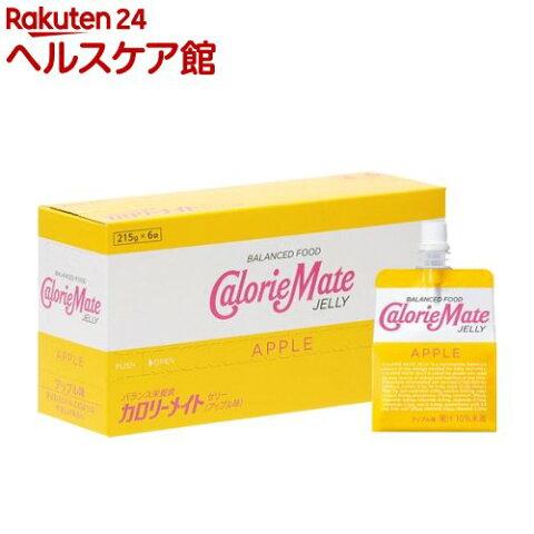 カロリーメイト ゼリー アップル味(215g*6袋入)【o9c】【カロリーメイト】
