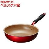 エバークック アルファ 炒め鍋 28cm EFPADE28RD(1コ入)【エバークック(evercook)】