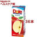【訳あり】ドール アップル100%ジュース(200mL*36本入)