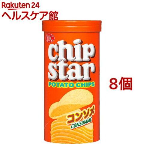 チップスター コンソメ Sサイズ(50g*8コ)【チップスター】