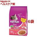 カルカン ドライ まぐろと野菜味(1.6kg*6袋)【dalc_kalkan】【