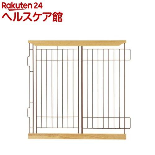 リッチェル 木製スライドペットサークル ワイド仕切り ナチュラル(1枚入)