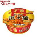 マルちゃん正麺 カップ 汁なし担々麺 ケース(132g*12個入)【マルちゃん正麺】