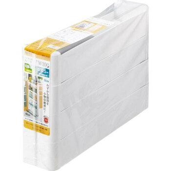 不動技研スマートワゴンFitW10045-4段ホワイトF2571