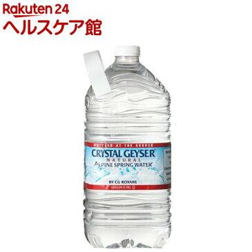 クリスタルガイザー ガロンサイズ(3.78L*6本入)【ichino11】【クリスタルガイザー(Crystal Geyser)】[ミネラルウォーター 大容量 水]【送料無料】