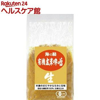 海の精国産有機玄米味噌10770