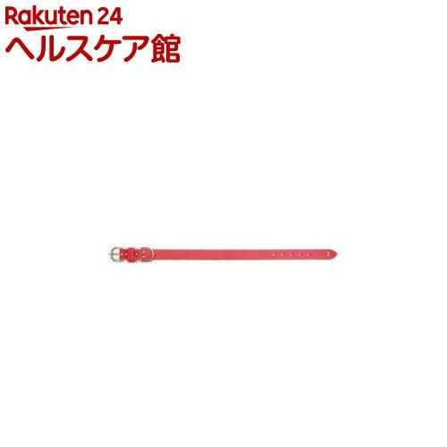 ON511-1 ソフトナメシ平首輪 #30L 赤(1コ入)