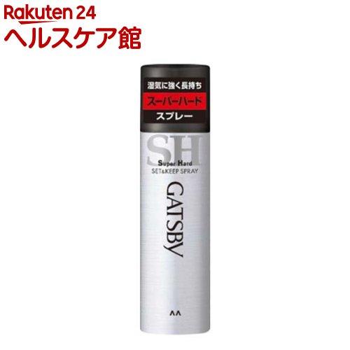 ギャツビー セット&キープスプレー スーパーハード(180g)【more20】【GATSBY(ギャツビー)】