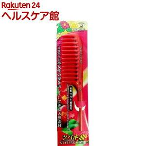 Расческа для укладки волос с маслом камелии М TSU458 (1 шт.)