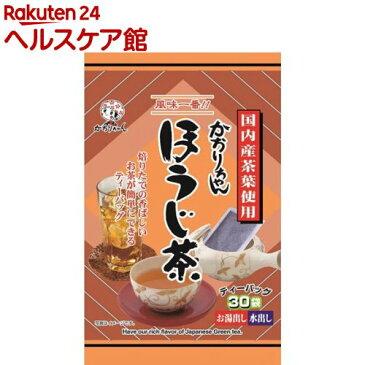 宇治森徳 ほうじ茶 ティーバッグ(6g*30袋入)