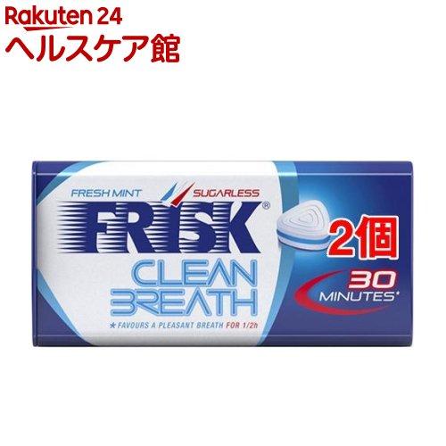 フリスク クリーンブレス フレッシュミント(35g*2コセット)【FRISK(フリスク)】