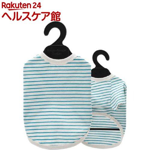ベリー コットンTシャツ 3号 ボーダー サックス(1枚入)