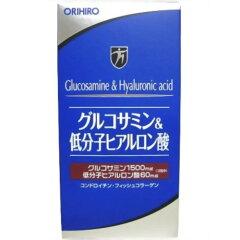 ★特価★【送料無料】「オリヒロ グルコサミン&低分子ヒアルロン酸 108g」グルコサミンを中心に...