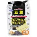 「中薬カルシウムウエハース五穀クリーム 12枚入」1枚で牛乳1本分のカルシウムが補給できます...