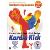 脂肪燃焼系エクササイズ KardioKick KKJ-001/エクササイズDVD/送料無料脂肪燃焼系エクササイズ KardioKick KKJ-001[エクササイズDVD]