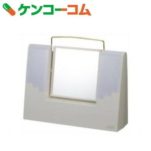 TANICA 照明付きメイクミラー アリスミラー ホワイト AM-12WH[タニカ]