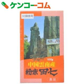 粉末田七(デンシチ)100g