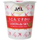 「【ケース販売】JAL うどんですかい 40g*15個」日清食品との共同開発による、関西風昆布だし...