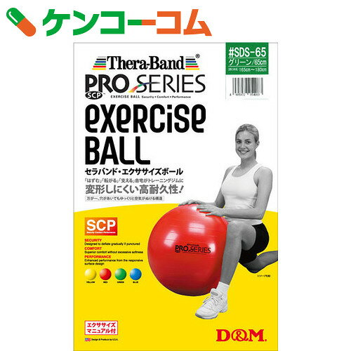 SDSエクササイズボール グリーン #SDS-65[D&M エクササイズボール(フィットネスボール)]【送料無料】