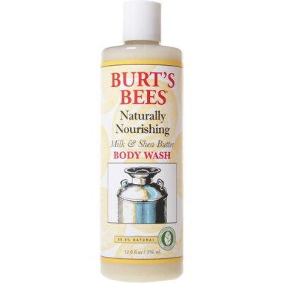 バーツビーズ ボディウォッシュ ミルク&シアバター350ml(正規輸入品)/Burts Bees(バーツビーズ)...