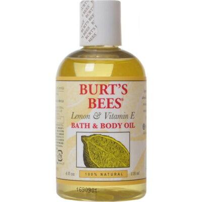 バーツビーズ バスアンドボディオイル レモン&ビタミンE118ml(正規輸入品)/Burts Bees(バーツビ...