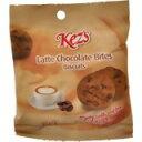 「ケズ ラテチョコレートバイツ 25g」チョコレートチップが入った一口サイズのクッキーです。...