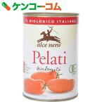 アルチェネロ オーガニック ホールトマト 400g[ケンコーコム 日仏貿易 アルチェネロ(alce nero) トマト缶 缶詰]