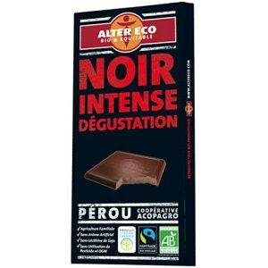 アルテル エコ オーガニック チョコレート ノワール アンターンス 100g/アルテル エコ/輸入チョ...