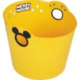 「ミッキーマウス やわらかバケツ R36 イエロー」ミッキーの形をした持ち手のやわらかバケツ(...