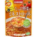 カゴメ たっぷり野菜のミネストローネ 240g/トマレピ(カゴメ)/トマトソース/税込980以上送料...