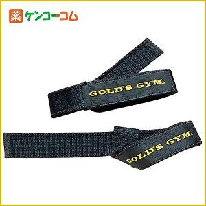 ゴールドジム リストストラップ ブラック/GOLD'S GYM(ゴールドジム)/リフティングストラップ/税...