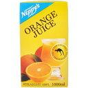 ニッピーズ オレンジジュース(ストレート) 1L/ニッピーズ/オレンジジュース/税込\1980以上送料...