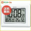 セイコー 温度・湿度表示付き 電波時計(掛置兼用) SQ424W/SEIKO(セイコー)/電波時計/送料無料セ...