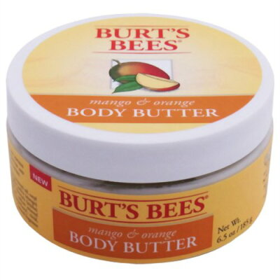 バーツビーズ ボディバター マンゴー&オレンジ185g(正規輸入品)/Burts Bees(バーツビーズ)/アロ...