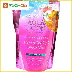 アクアサロン コラーゲンパック シャンプー モイスチャーシャボンの香り つめかえ用 380ml/アク...