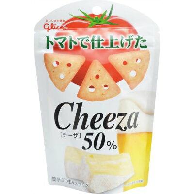 グリコ トマトで仕上げたチーザ 42g/Cheeza(チーザ)/おつまみスナック/税込\1980以上送料無料グ...