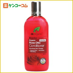 Dr.Organic ローズオットー コンディショナー 265ml/Dr.Organic/リンス ハリ&コシ/税込2052円...