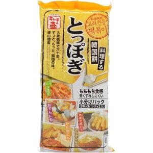 料理する韓国餅とっぽぎ 3本×3パック×2入/トッポギ(トッポッキ)/税込\1980以上送料無料料理す...