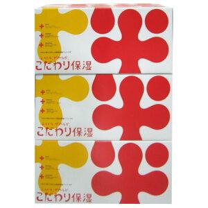 ふっくらやわらか こだわり保湿 ティッシュペーパー 360枚(2枚重ね180組)×3個/KAWANO(河野製紙...