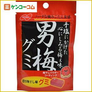 ノーベル 男梅 グミ 38g×6袋[男梅 グミ]【あす楽対応】