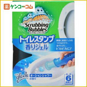 スクラビングバブル トイレスタンプ 香りジェル オーシャンシャワーの香り 38g/スクラビングバ...