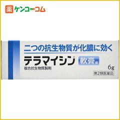 【第2類医薬品】テラマイシン軟膏a 6g[ジョンソンエンドジョンソン 皮膚の薬/とびひ・めんちょう]
