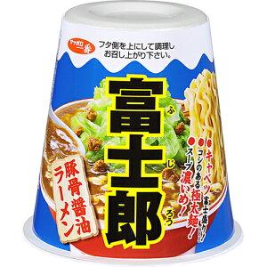 【ケース販売】サッポロ一番 富士郎 豚骨醤油ラーメン 140g×12個/サッポロ一番/しょうゆラーメ...