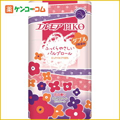 エルモア ピコ 12ロール ピンクダブル 花の香り 25m/エルモア/トイレットペーパー ダブル/税込2...