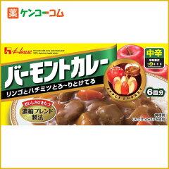 ハウス食品 バーモントカレー中辛 115g[バーモントカレー カレールウ(中辛)…