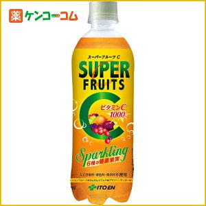 【ケース販売】スーパーフルーツC スパークリング 500ml×24本/炭酸飲料(スパークリング)/送料...