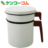アイリスオーヤマ 活性炭オイルポット900ml カートリッジ1個付 白 H-OP900【送料無料】